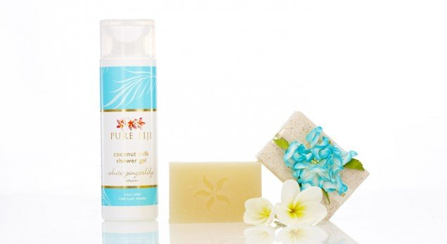 White gingerlily product range