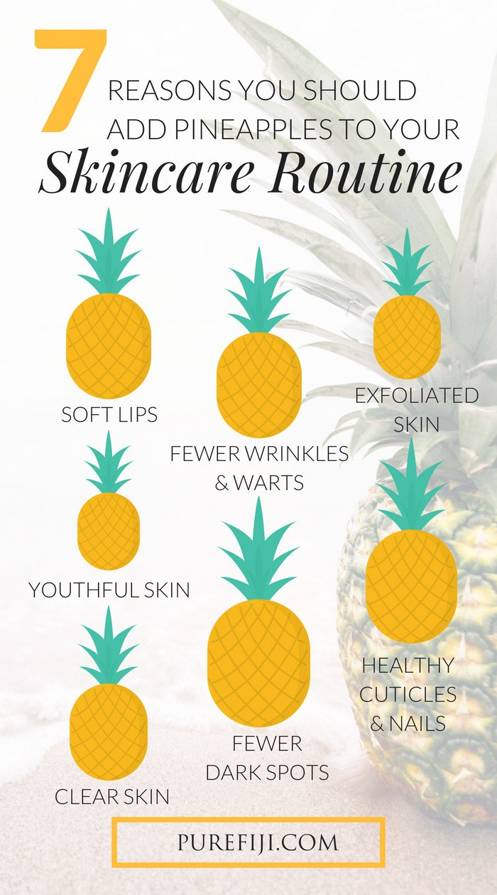 Benefits of Pineapple Infographic