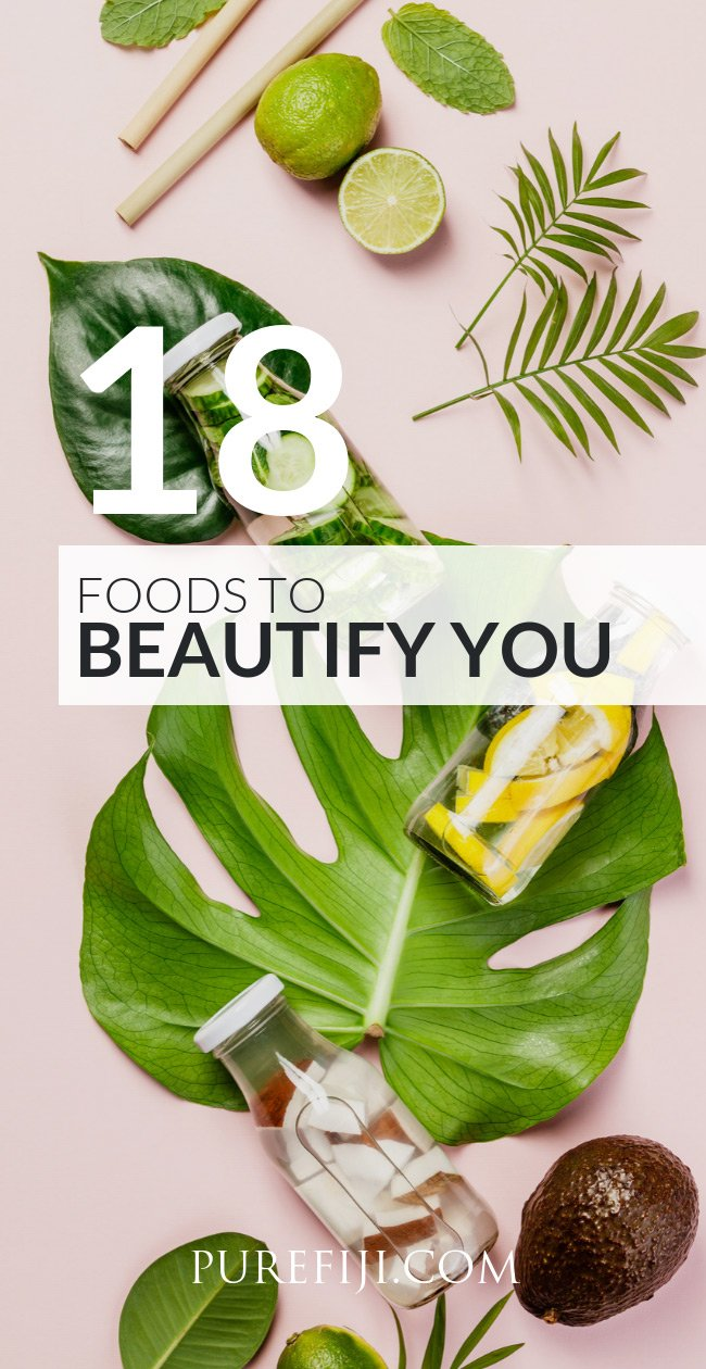 18 foods to beautify you
