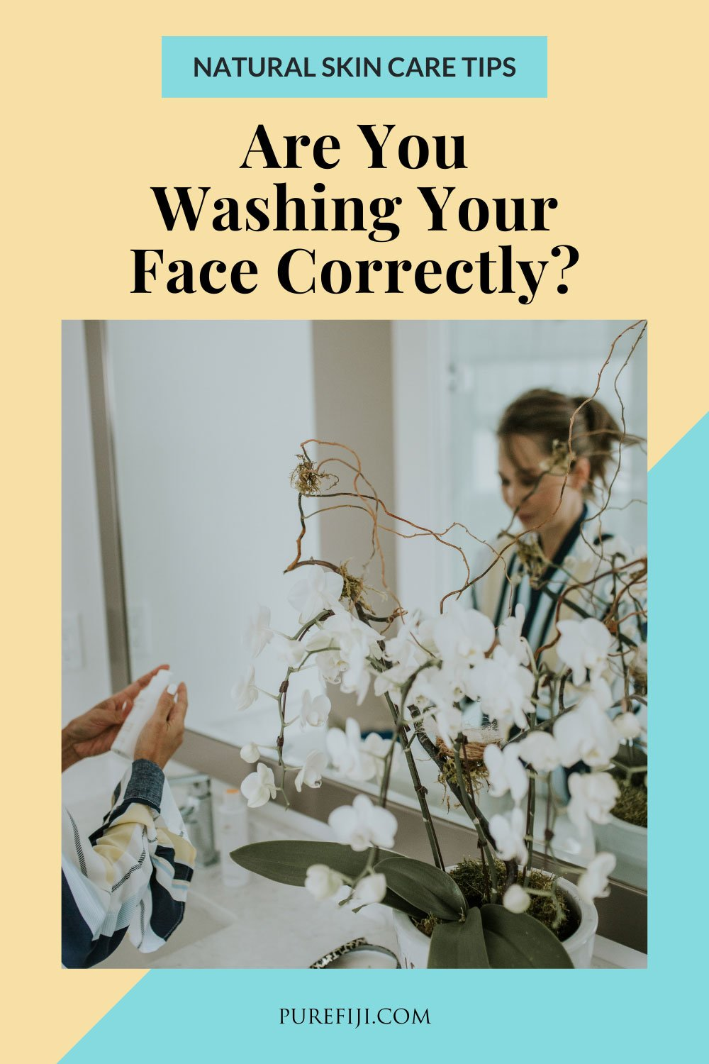 how to wash face correctly