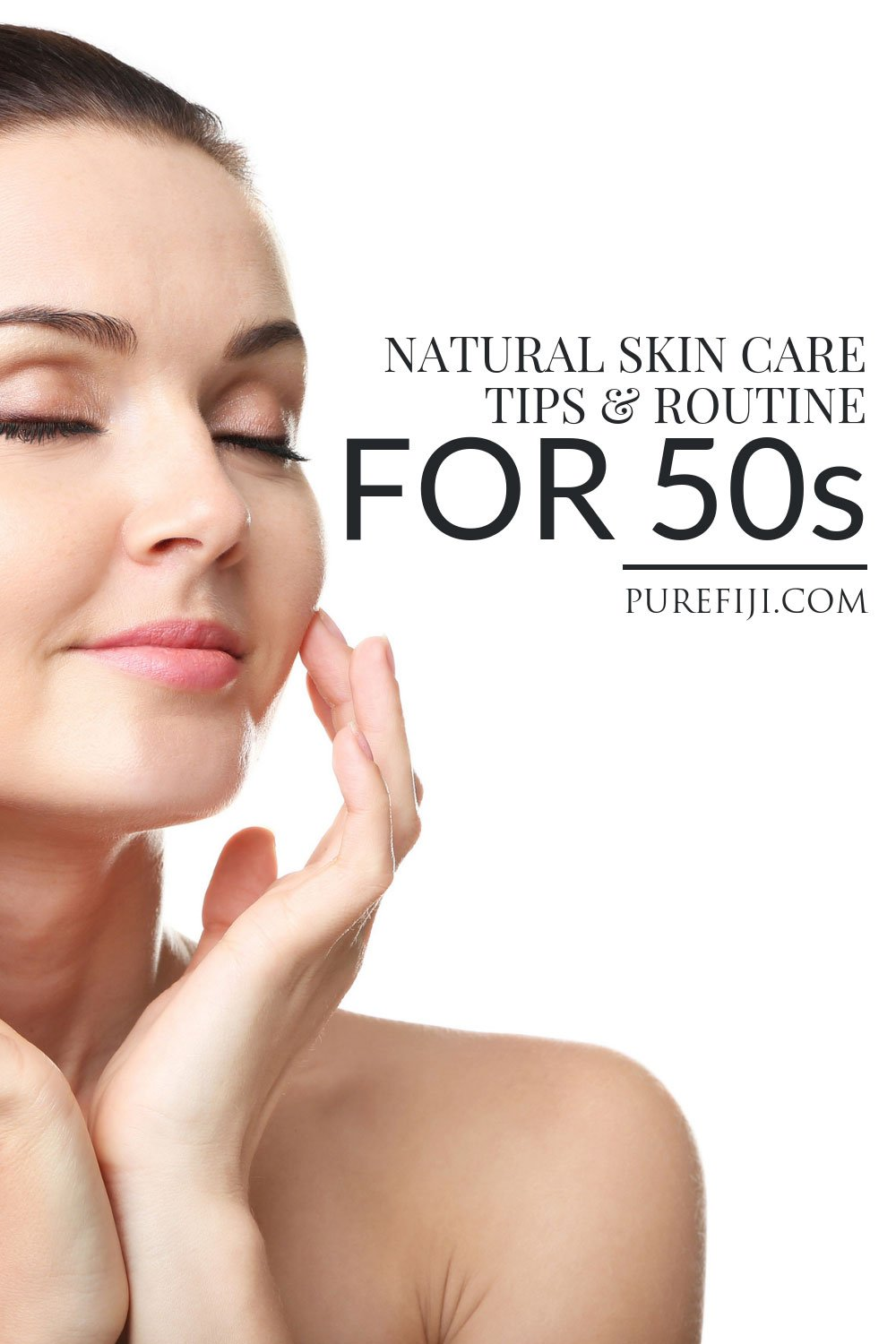 Natural Skincare in your Fifties