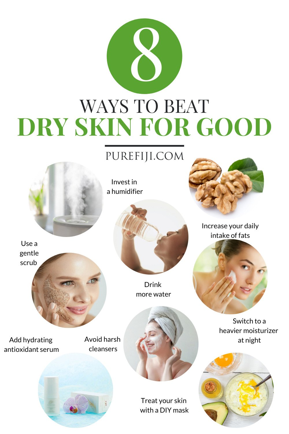 Natural Skin Care Routine and Tips for Dry Skin: 8 Easy ...