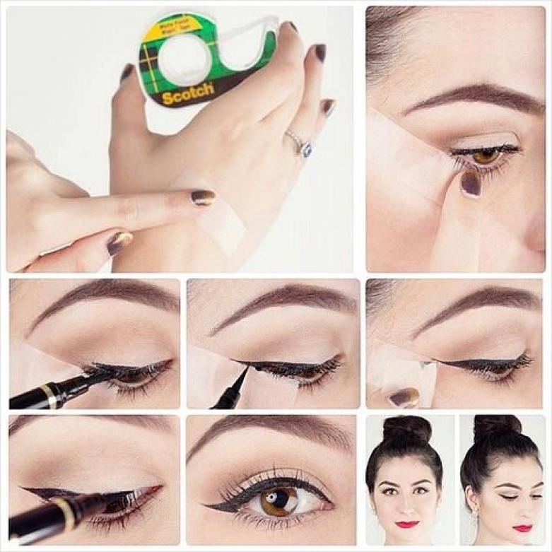 Create the perfect wing with tape