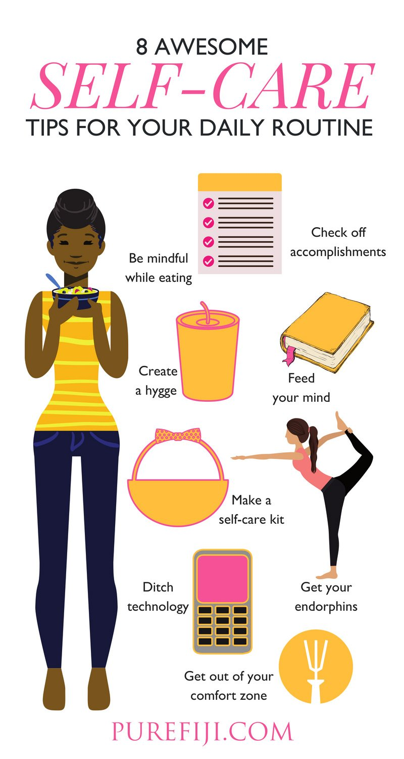 Self Care Tips Infographic