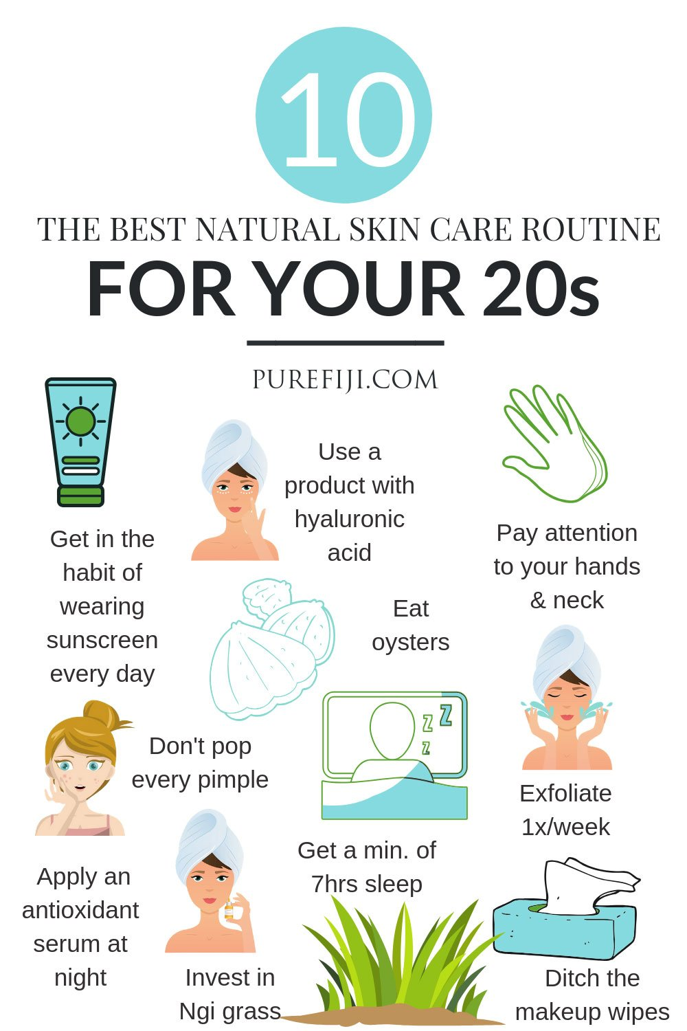 10 Natural Skin Care Tips for Gorgeous Skin in Your 20s