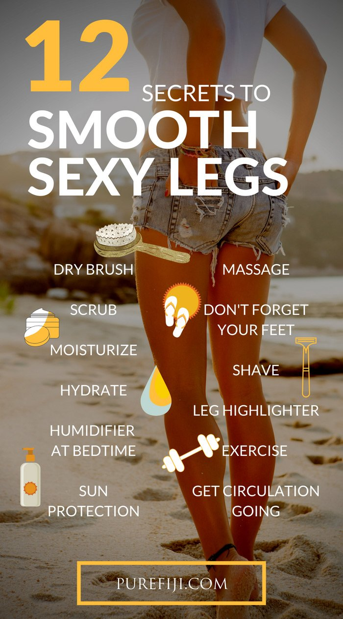 Smoother Legs Infographic