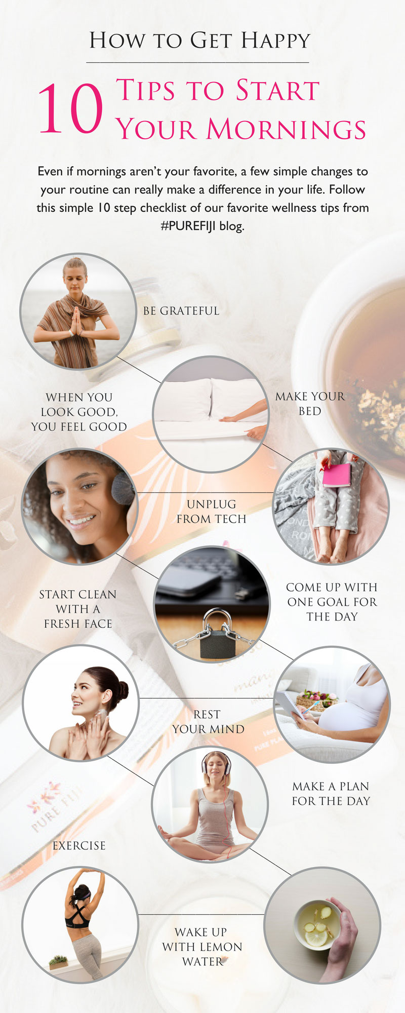 Infographic - How to Start Your Day off Right: A Simple Checklist to Get You Started