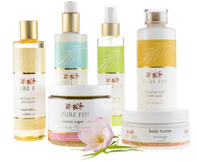 Pure Fiji Bath and Body Products